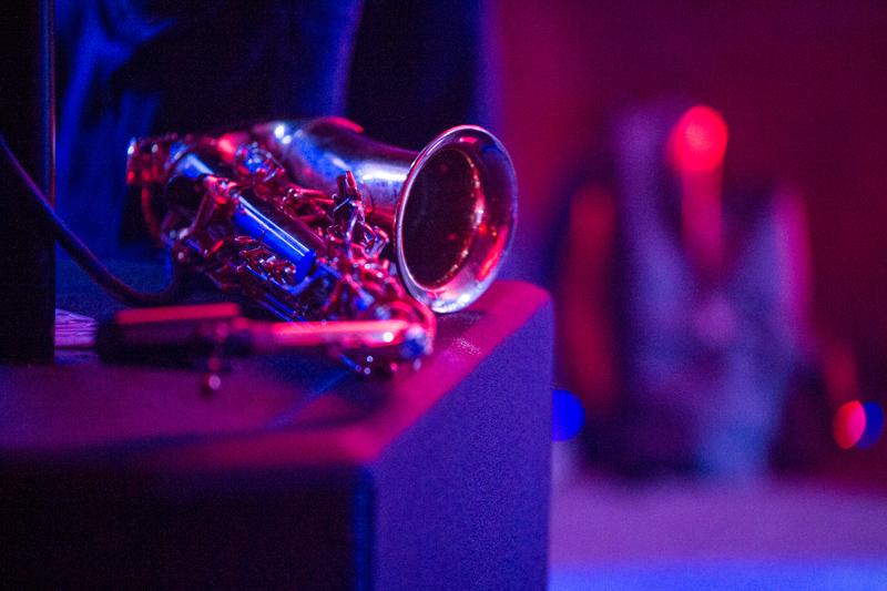 Jazzmusik in den Veranstaltungsräumen